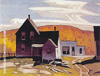 Whitney Painting By A J Casson - Reproduction Gallery