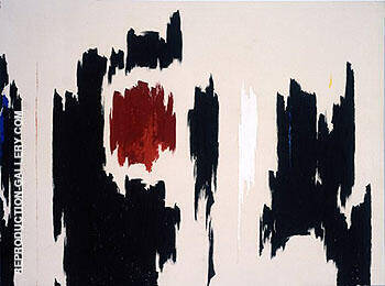 Untitled 1962 By Clyfford Still
