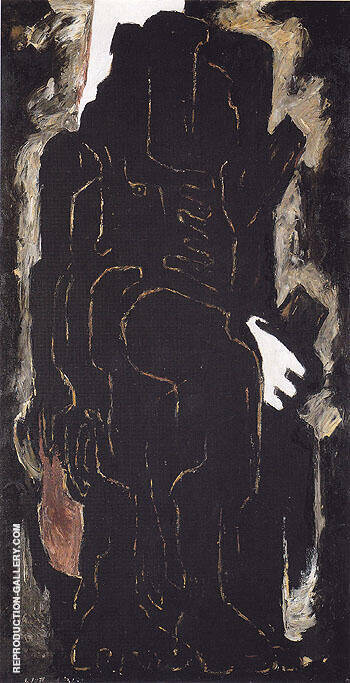 PH 591 c1936 By Clyfford Still