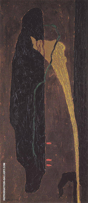 PH 169 1941 By Clyfford Still Replica Paintings on Canvas - Reproduction Gallery