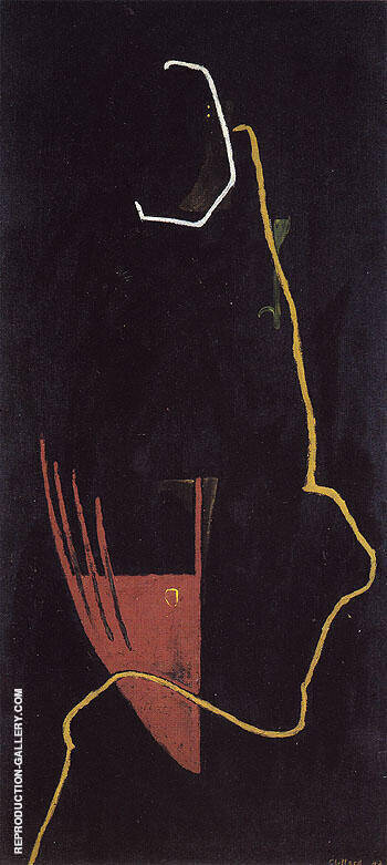 PH 298 1942 By Clyfford Still Replica Paintings on Canvas - Reproduction Gallery