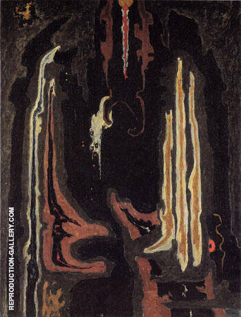 PH 135 1945 Painting By Clyfford Still - Reproduction Gallery