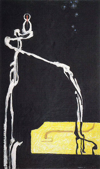 PH 233 1945 By Clyfford Still Replica Paintings on Canvas - Reproduction Gallery