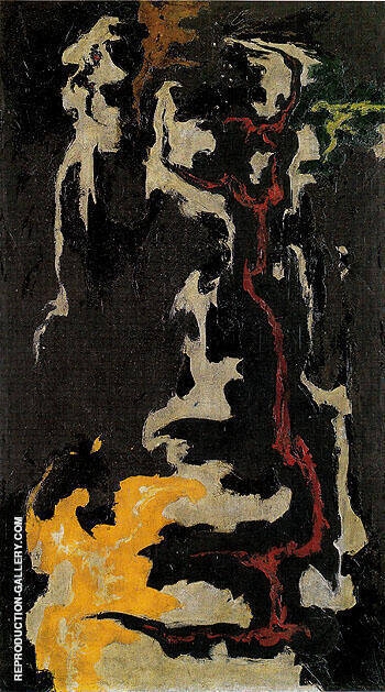 PH 123 1947 By Clyfford Still Replica Paintings on Canvas - Reproduction Gallery