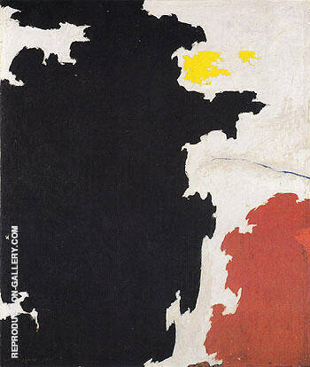 PH 371 1947 By Clyfford Still Replica Paintings on Canvas - Reproduction Gallery