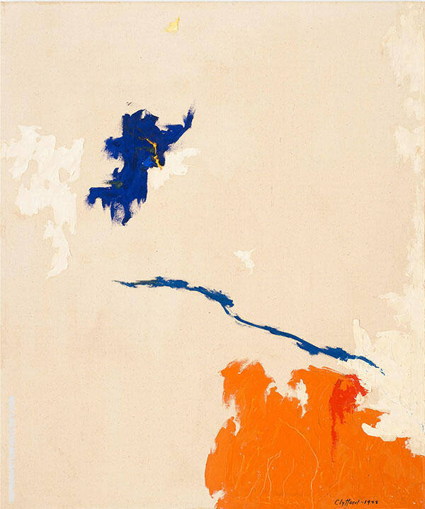 PH 128 1948 Painting By Clyfford Still - Reproduction Gallery