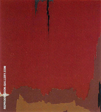 PH 969 1954 Painting By Clyfford Still - Reproduction Gallery