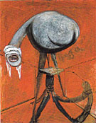 Studies for Figures at the Base of a Crucifixion 1944 II By Francis Bacon