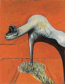 Studies for Figures at the Base of a Crucifixion 1944 IIi By Francis Bacon