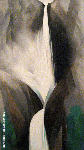 Waterfall 1951 By Georgia O'Keeffe