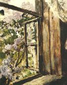 Open Window Lilacs 1886 By Valentin Serov