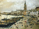 Riva degli Schiavoni in Venice 1887 By Valentin Serov