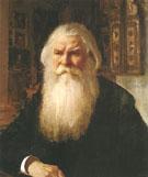 Portrait of Ivan Zebelin 1892 By Valentin Serov