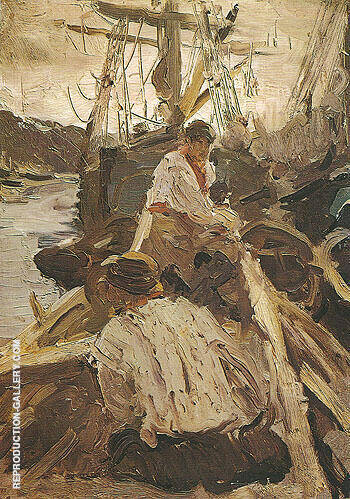 Reproduction of Pomors 1894 by Valentin Serov | Oil Painting Replica On CanvasReproduction Gallery