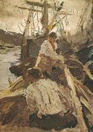 Pomors 1894 By Valentin Serov