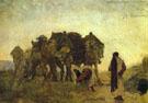 Abrahams Servant Finds Isaac a Bride Rebekah 1894 By Valentin Serov