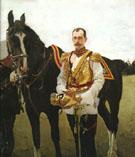 Portrait of Grand Duke Pavel Alexandrovich 1897 By Valentin Serov