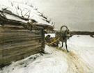 In Winter 1898 By Valentin Serov