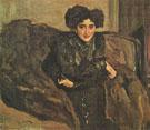 Portrait of Yevdokia Loseva 1903 By Valentin Serov