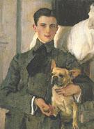 Portrait of Count Felike Feliksovich Sumarokov Elston Later Prince Yusupov 1903 By Valentin Serov