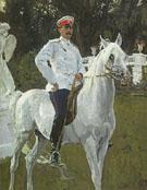 Portrait of Prince Felix Yusupov count Sumarokov Elston 1903 By Valentin Serov