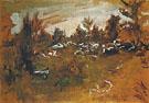 Herd 1890 By Valentin Serov