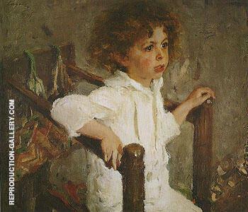 Portrait of Mikhail Morozov 1901 By Valentin Serov