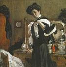Portrait of Henriette Girshman 1907 By Valentin Serov