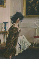 Portrait of the Princess Olga Orlova 1911 By Valentin Serov
