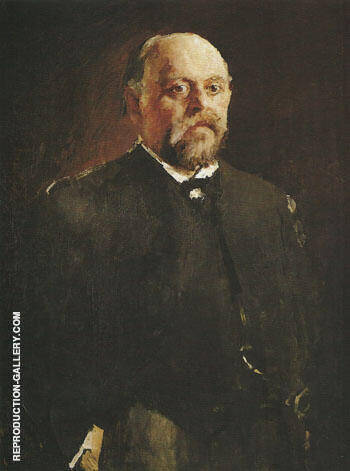 Portrait of Sawa Mamontov 1887 By Valentin Serov - Oil Paintings & Art Reproductions - Reproduction Gallery
