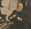 Portrait of Alexander Turchainov 1906 By Valentin Serov