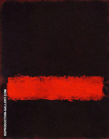 Black Red and Black 1968 By Mark Rothko