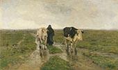 Changing Pasture c1880 By Anton Mauve