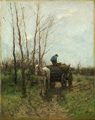 Gathering Wood By Anton Mauve