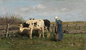 Milking Time 1875 By Anton Mauve