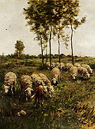 A Girl Watching The Flock By Anton Mauve
