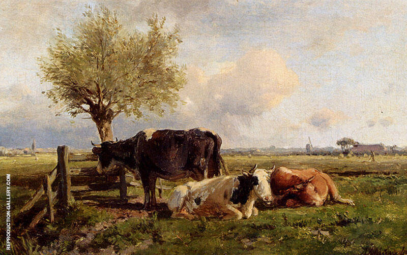 Resting Cows By Anton Mauve