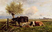 Resting Cows By Anton Mauve