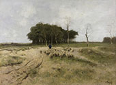 Heath at Laren By Anton Mauve