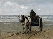 Seaweed Gatherer By Anton Mauve