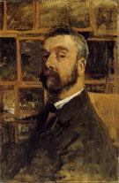 Self Portrait By Anton Mauve
