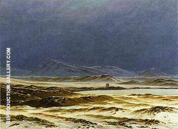 A Nordic Landscape Spring 1825 By Anton Mauve