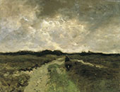 Crossing the Heath By Anton Mauve