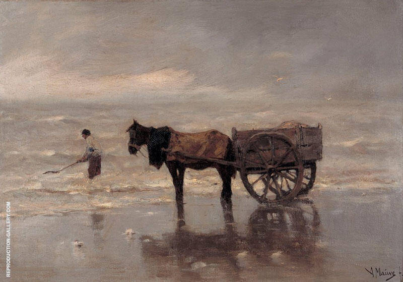 Gathering Seaweed By Anton Mauve