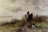 The Country Road By Anton Mauve