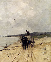 The Sand Cart By Anton Mauve