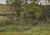 The Kitchen Garden c1885 By Anton Mauve