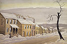 Houses 1920 By Charles Burchfield