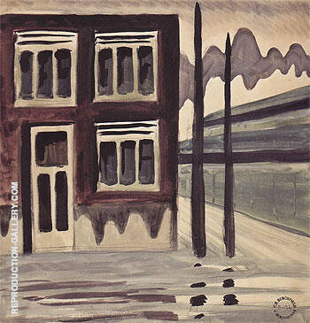Corner House 1920 By Charles Burchfield