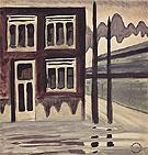 Corner House 1920 By Charles Burchfield